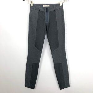J Brand Womens Sz 0 Skinny Trouser Dress Pant Gray